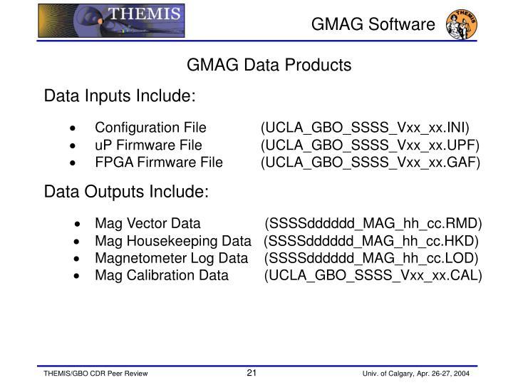 GMAG Software