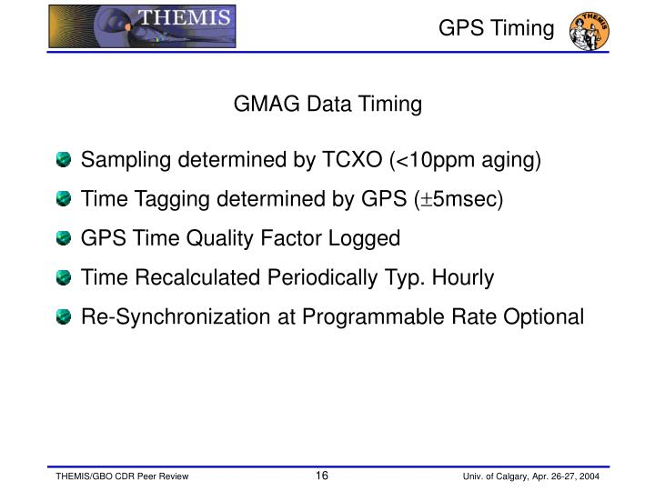 GPS Timing