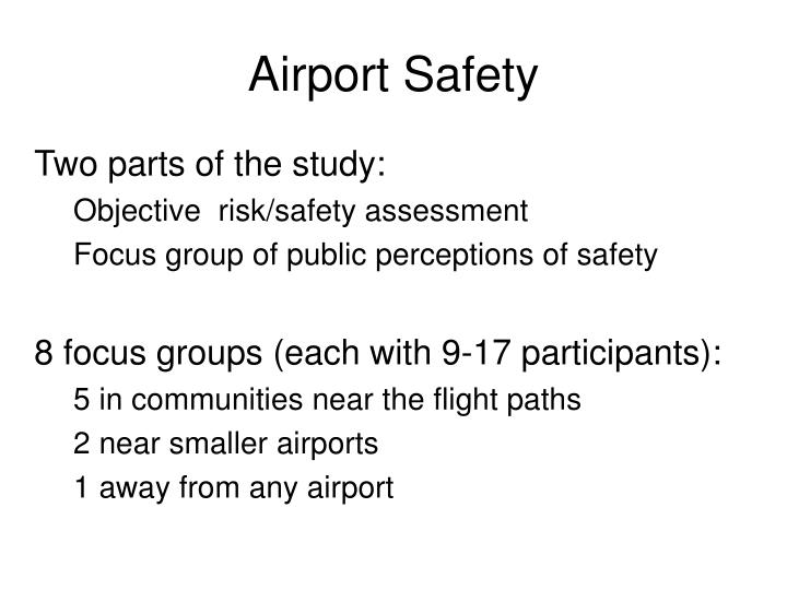 Airport Safety