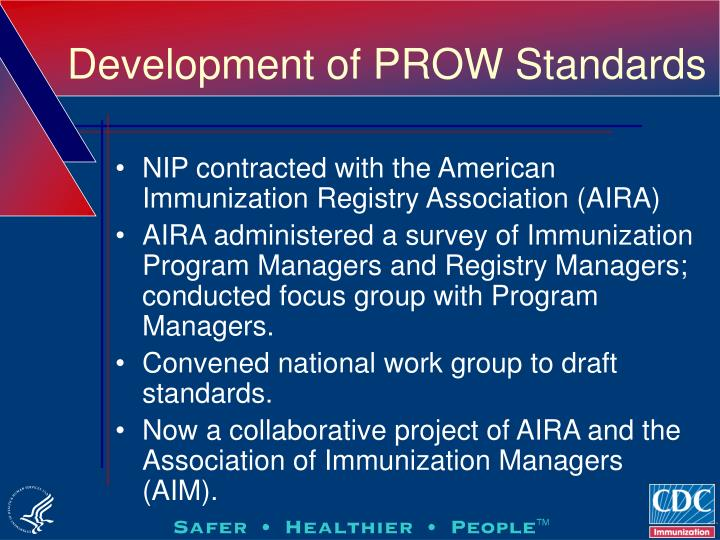 Development of PROW Standards