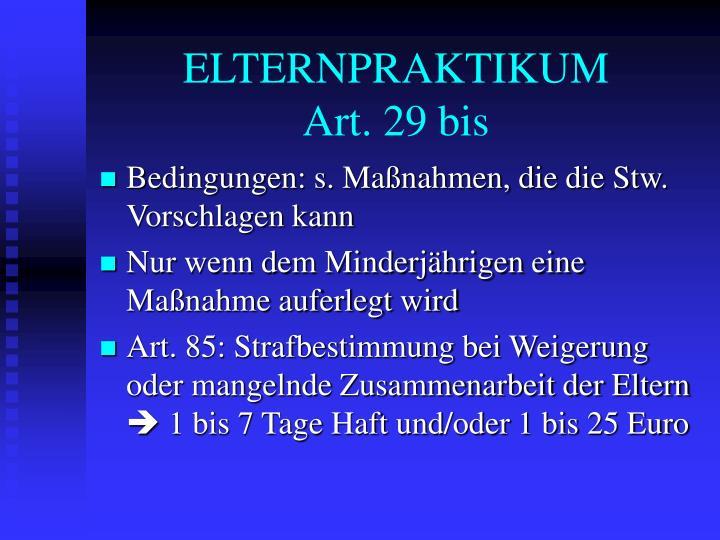 ELTERNPRAKTIKUM