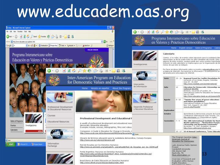 www.educadem.oas.org