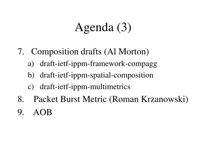 Agenda (3)