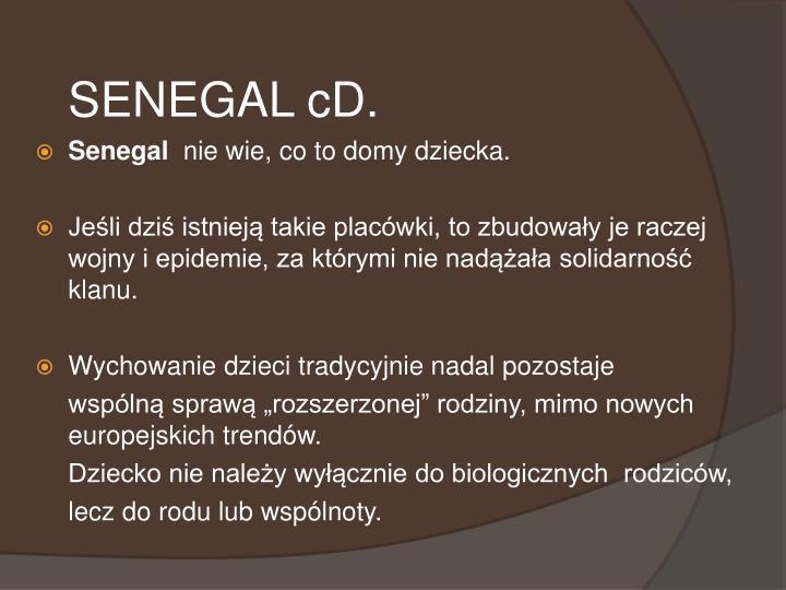 SENEGAL cD.