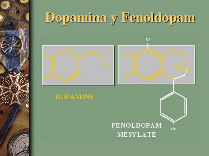 Dopamina y Fenoldopam