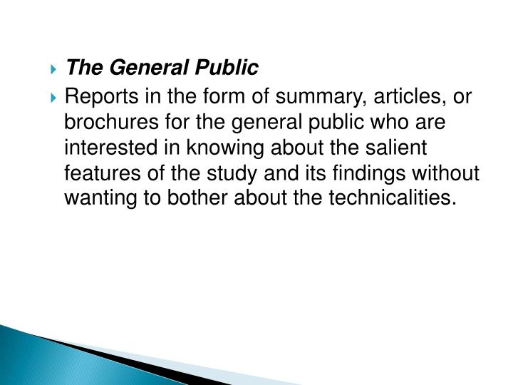 The General Public