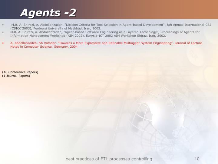 Agents -2