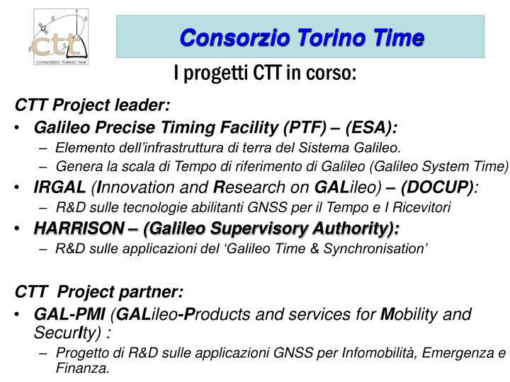 CTT Project leader: