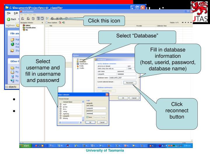 MCRDR classifier Installation