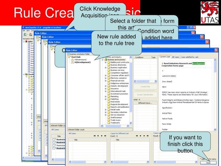 Rule Creation - Basic