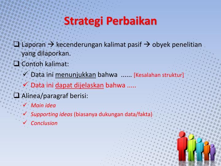 Strategi Perbaikan