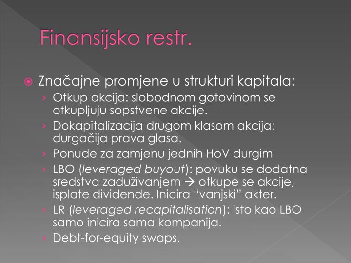 Finansijsko restr.