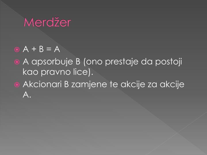 Merdžer