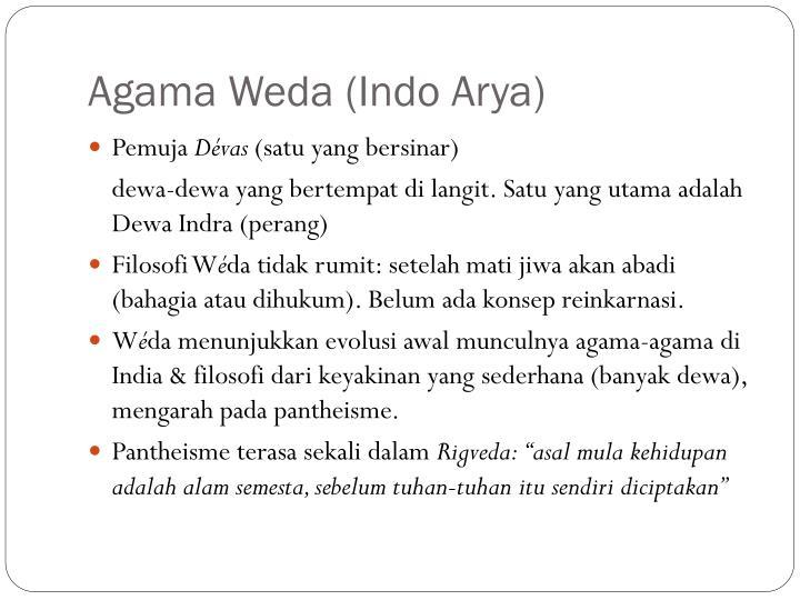 Agama Weda (Indo Arya)