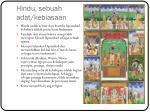 hindu sebuah adat kebiasaan