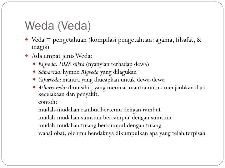Weda (Veda)