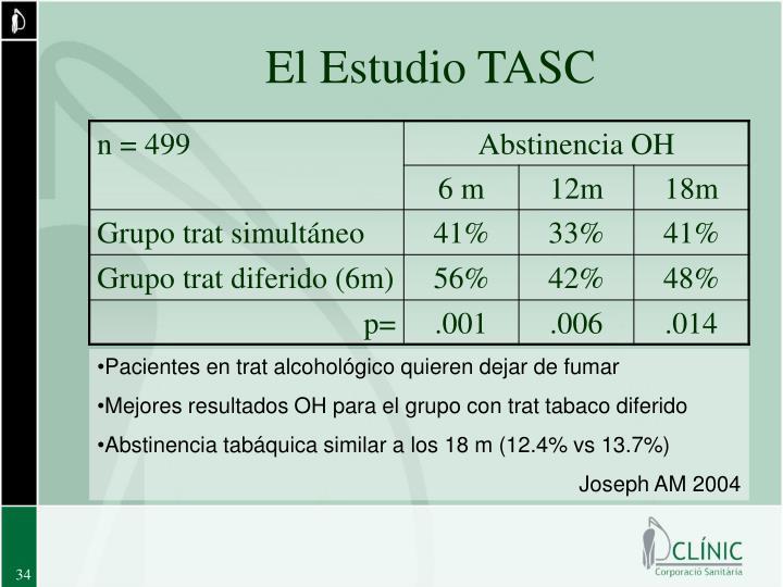 El Estudio TASC