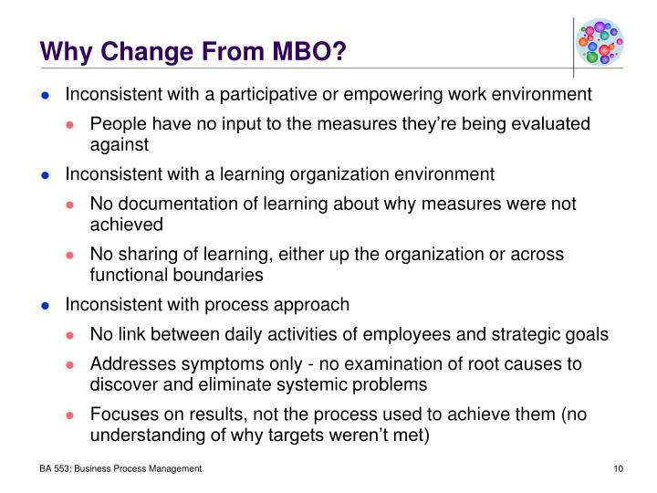 Why Change From MBO?