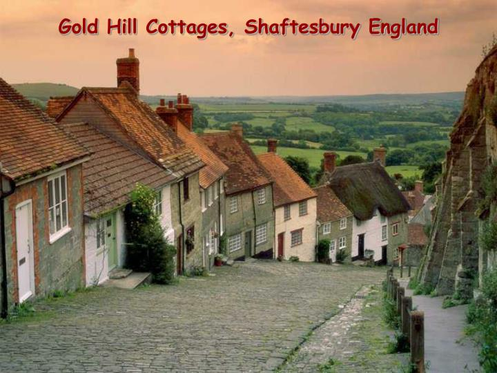 Gold hill cottages shaftesbury england