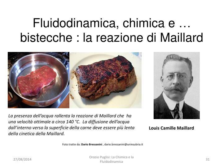 Fluidodinamica, chimica e … bistecche : la reazione di Maillard