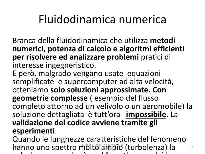 Fluidodinamica numerica