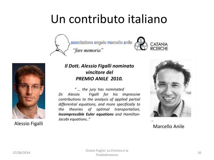 Un contributo italiano