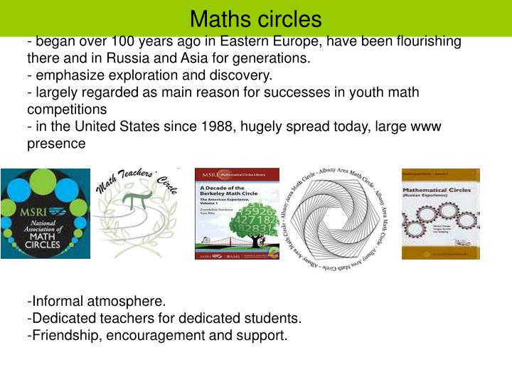 Maths circles