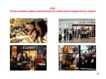 2010 china overtakes japan and becomes the world second largest luxury market