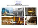 hong kong harbor city opening date 1966