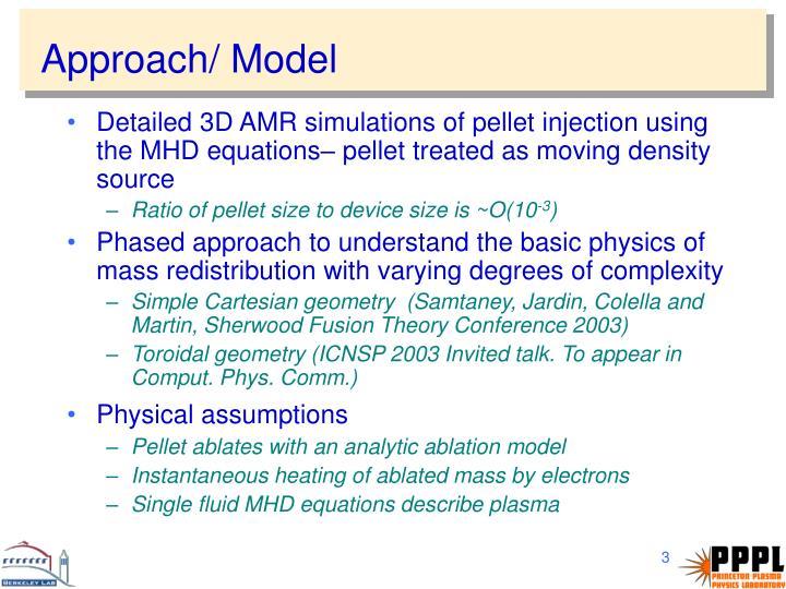 Approach/ Model