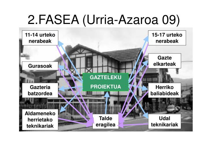 2.FASEA (Urria-Azaroa 09)