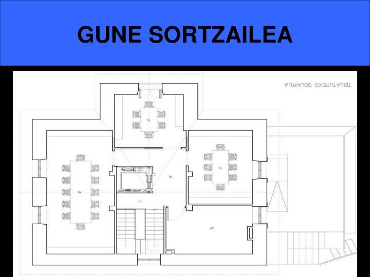 GUNE SORTZAILEA