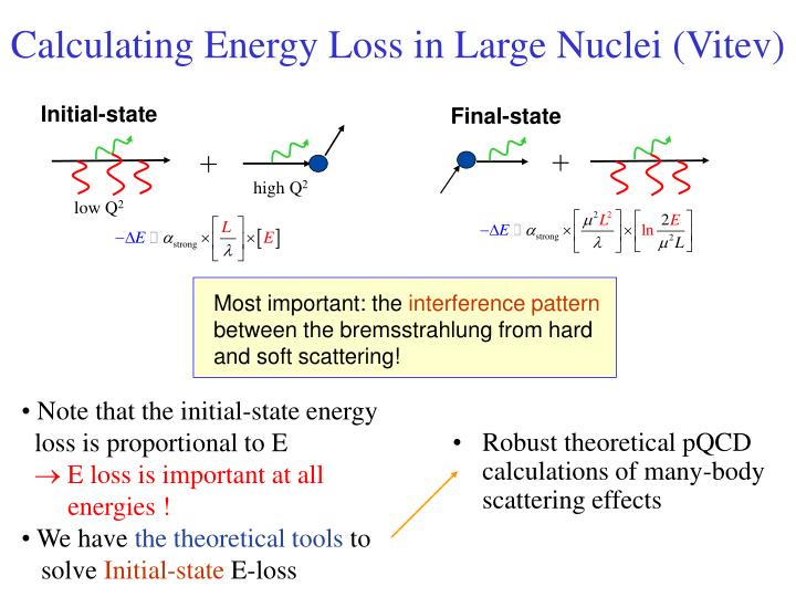 Calculating Energy Loss in Large Nuclei (Vitev)