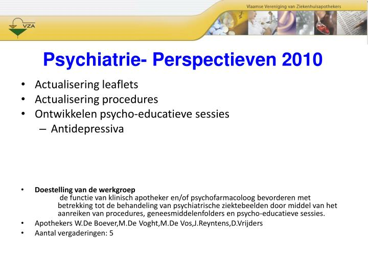 Psychiatrie-