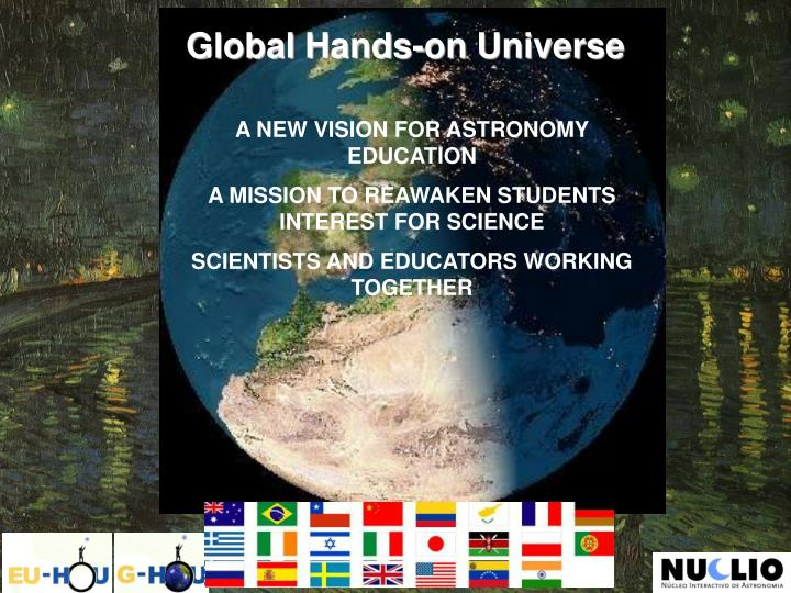 Global Hands-on Universe