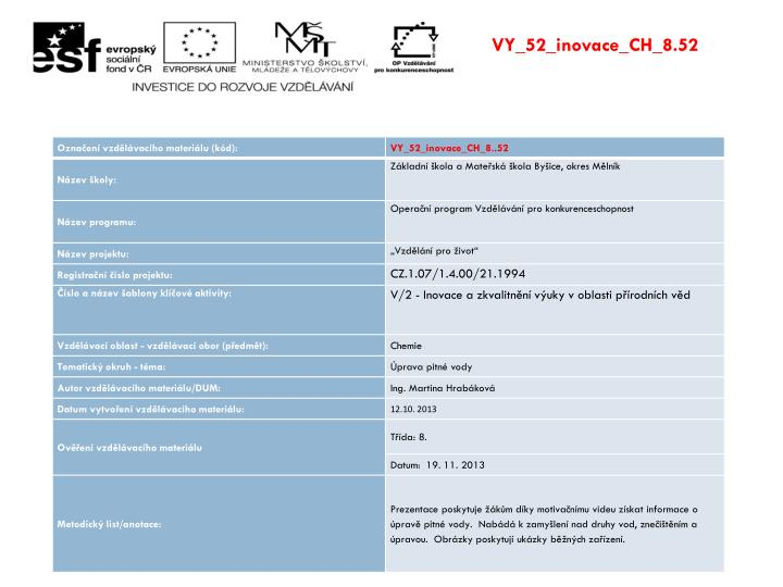 VY_52_inovace_CH_8.52