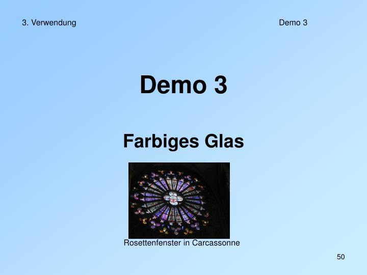 3. Verwendung Demo 3