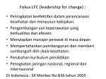 fokus lfc leadership for change