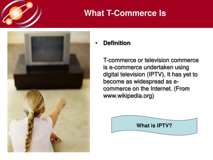 What T-Commerce Is