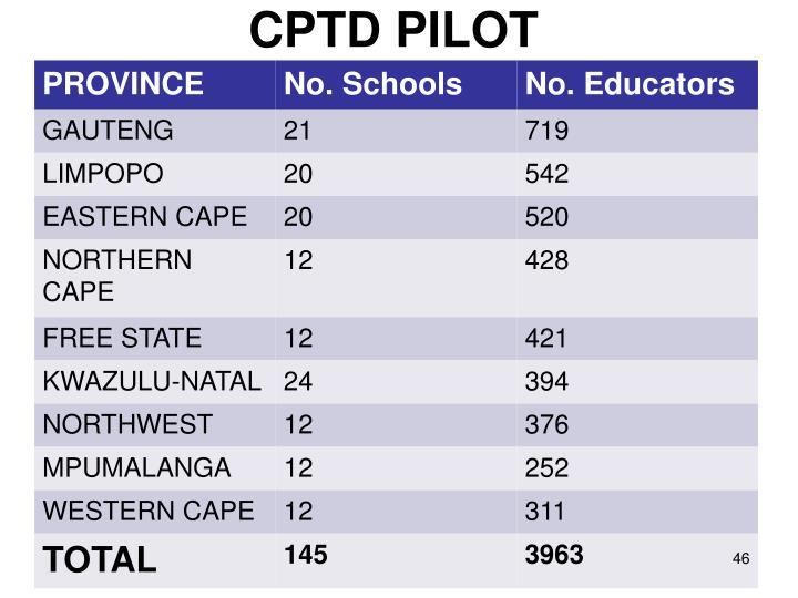 CPTD PILOT