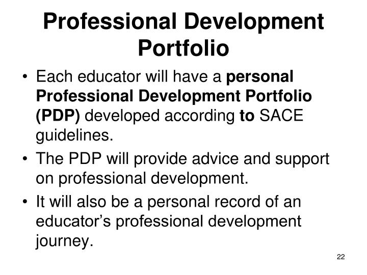 Professional Development Portfolio
