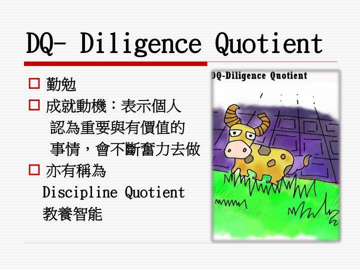 DQ- Diligence Quotient