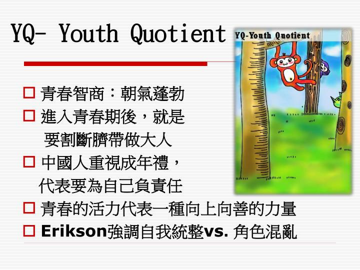 YQ- Youth Quotient