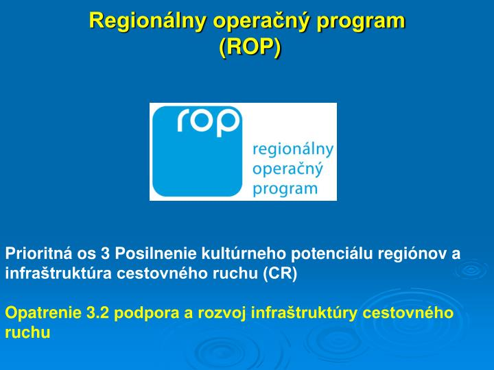 Region lny opera n program rop