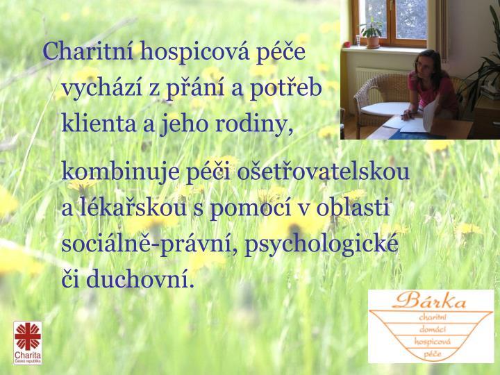 Charitní hospicová péče