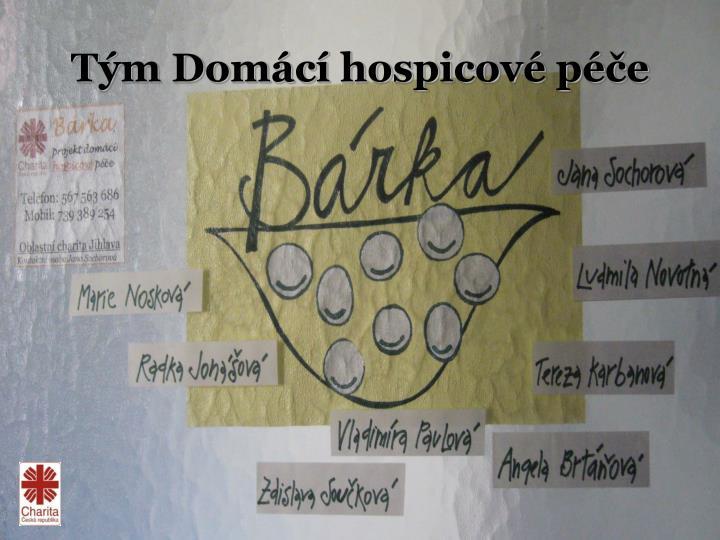 Tým Domácí hospicové péče