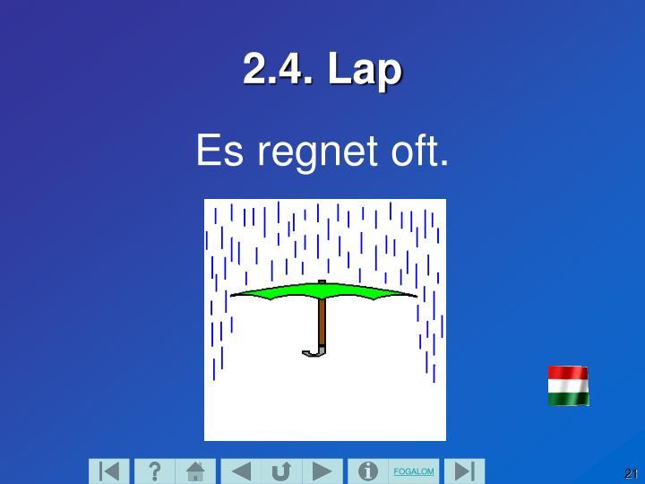 2.4. Lap