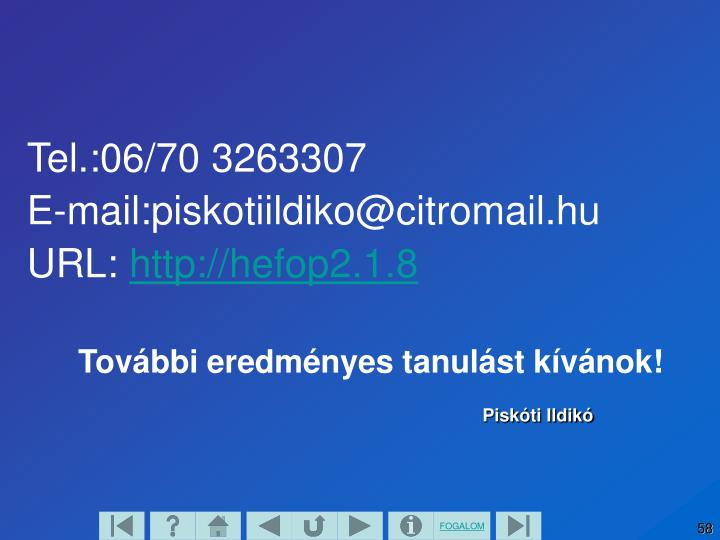 Tel.:06/70 3263307