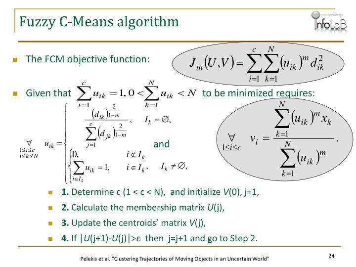 Fuzzy C-Means algorithm