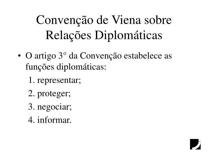 Convenção de Viena sobre Relações Diplomáticas